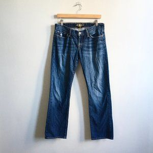 Lucky Brand Mid Rise Straight Riley Jean 6/28